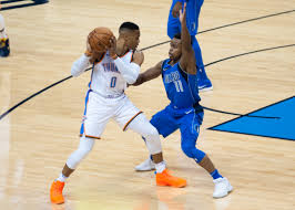 Oklahoma travel guard images Okc thunder travel to dallas with hopes of avoiding crunch time jpg
