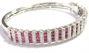 bangle bracelet designs images Gold diamond bangles designs 2 00ct natural diamond ruby jpg&a
