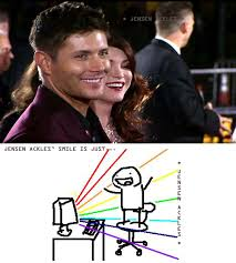 Ahhh Meme - jensen ackles smile is just ahhh meme supernatural