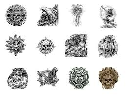 aztec tattoos designs aztec tattoos and their meanings there are