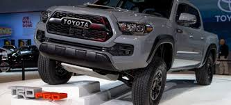 redesign toyota tacoma 2019 toyota tacoma what are the changes on the tacoma