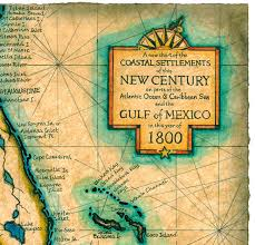 mexico map 1800 gulf and caribbean map c 1800 maps cuba florida