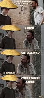 Hey Carl Meme - hey carl 30 dead funny reasons why the classic walking dead