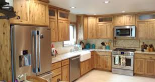 what paint color goes best with hickory cabinets country hickory cabinets rta easy kitchen cabinets