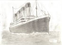 most beautiful drawing in the world how to draw titanic ship