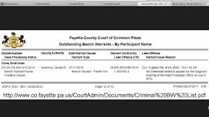How Does A Bench Warrant Work 2016 Dui Bac 16 07 11 Bench Warrant Parole Violation Fail To