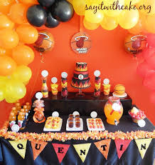 party supplies miami miami heat cake recipe miami heat party miami heat and