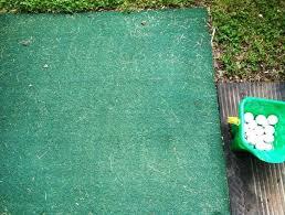 Diy Backyard Putting Green by Diy Backyard Golf Green My Dad U0027s Gift To Himself For Father U0027s