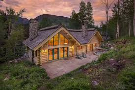 lovely log cabin colorado luxury homes mansions for sale