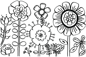 printable coloring pages flowers realistic flower coloring pages realistic flower coloring pages