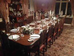 the dining room does downton abbey u2013 dinner is served at penarwel