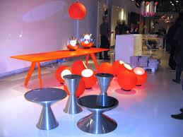 fluoro pendant fluorescent orange by tom dixon