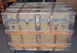 beautiful travel trunks trunk history and vintage steamer trunk information main page