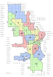 Chicago Parking Zone Map by Map City Of Milwaukee Aldermanic Districts 2012