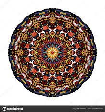 Mystic Ottoman Flower Mandala Vintage Decorative Elements Pattern