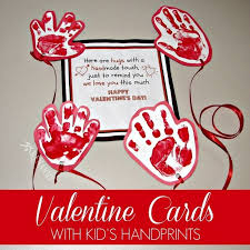 kid valentines kid s card idea sending a distance hug
