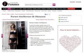 Le Journal De La Femme Cuisine Unique Journal Diamoon Le Journal Des Femmes Sous Le Charme De La Parure Casino