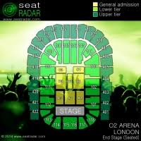 o2 arena floor seating plan o2 arena north greenwich london seatradar com