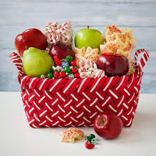 christmas fruit baskets cheer fruit basket don t peak don t sneak til