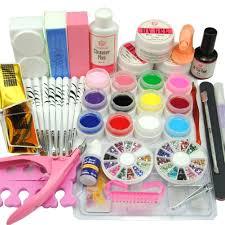 cocelia 12pc pure color uv gel manicure nail art salon fashion kit