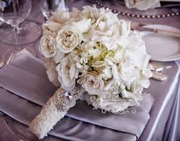 wedding bouquet ideas picture of gorgeous wedding bouquet wraps holders and handles ideas