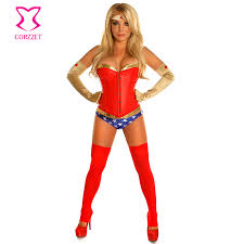 Lingerie Halloween Costumes Compare Prices Superhero Lingerie Shopping Buy