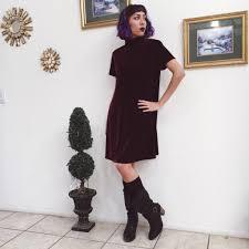 vsco 90 u0027s dress fashion blogger california velvet 90s