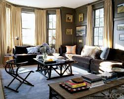 modern living room idea brown sofa decorating living room ideas with regard to