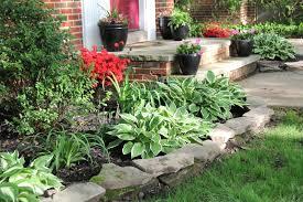 front yard slope landscaping home decorating interior design