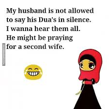 my husband is not allowed to say his dua s in silence i wanna hear