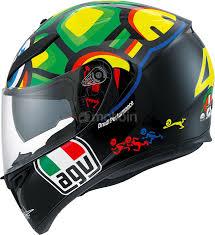 agv motocross helmets agv k 3 sv vr46 tartaruga replica integral helmet motoin de
