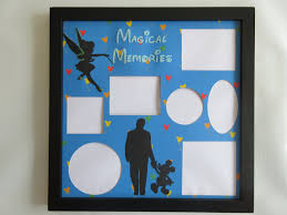 disney themed picture frame frames collage mickey mouse walt