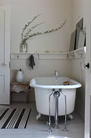 White Bathroom Shelf With Hooks by Sheila Narusawa Via Design Skool White Vintage Rustic Bathroom