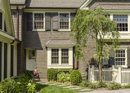 colonial home decorating ideas brown shingle siding for colonial house exterior 51125 house