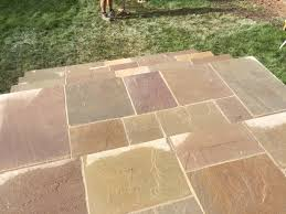 Pointing A Patio by Stunning Barn Conversion Gets New Patio Pave Your Way
