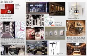 art wine store mood boards and the music selected for the store susan mani 3d collage susan mani logo and the mood board