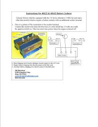 amazon com cole hersee 48122 battery isolator automotive