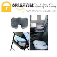 aylio coccyx orthopedic comfort foam seat cushion 29 99
