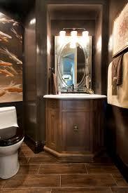 Powder Room Photos - vibrant transitional powder room san diego interior designers