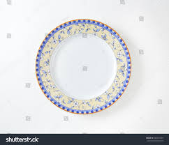 country style dinner plate floral design stock photo 248241025