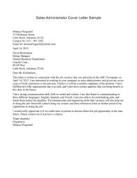 cover letter sales cover letters samples sales representative