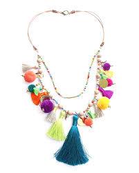 tassel necklace images Pom pom parade tassel necklace april soderstrom jpg