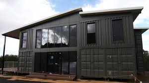 the lindendale luxury shipping container home by container build