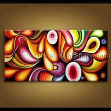 extra large wall art original modern abstract oil painting on canvas unique