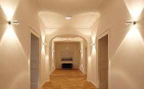 Modern Wall Sconces Lighting Ideas Hallway Lighting Ideas With White Drum Shade