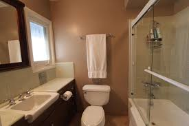bathroom small mid century bathroom design with white ceramic