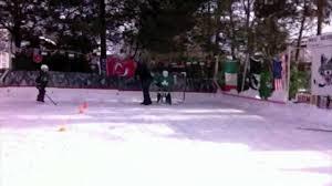 wolf backyard ice rink 2015 youtube