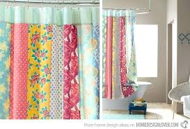 Bright Green Shower Curtain Bright Colored Shower Curtains Teawing Co