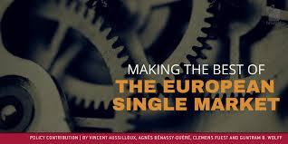 Making The Best Resume by Making The Best Of The European Single Market Bruegel