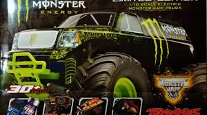traxxas monster jam monster energy truck unboxing